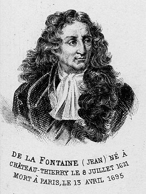 Jean de La Fontaine - reproduction © Norbert Pousseur
