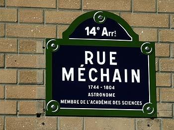Méchain, astronome et membre de l'académie des sciences, 1744 - 1804