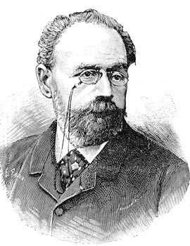 Émile Zola - Reproduction © Norbert Pousseur