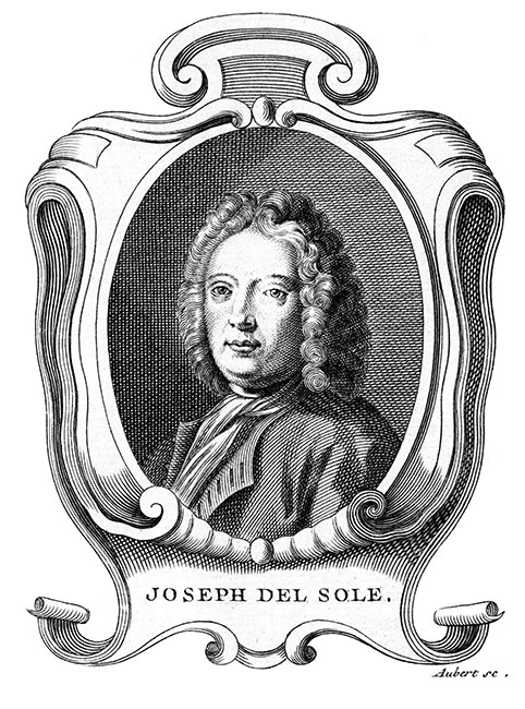 Joseph del Sole, peintre italien - Reproduction © Norbert Pousseur