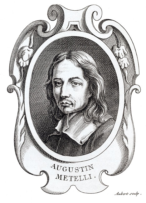 Augustin Metelli, peintre italien - Reproduction © Norbert Pousseur