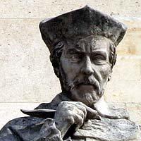 <b>Jacques Amyot</b> - Prélat et écrivain - 1513 / 1593 - Sculpture de la cour <b>...</b> - img1667t
